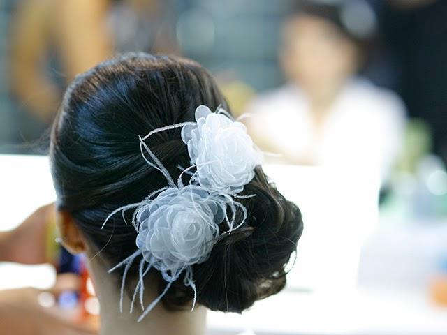 Casamento - Dia da Noiva - Penteado