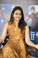Rakul Preet Singh smiling Beautyin Brown Deep neck Sleeveless Gown at her interview 2.8.17 ~  Exclusive Celebrities Galleries 035.JPG