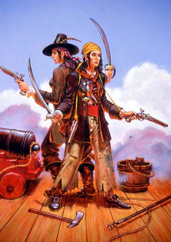 how did mary read and anne bonny meet