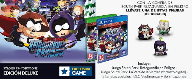 Compra South Park: Retaguardia en Peligro en GAME para llevarte diversos regalos