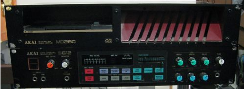 Waveformless: Akai S612 Sampler on eBay