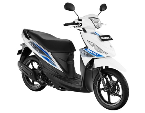 Review Suzuki Adress F1
