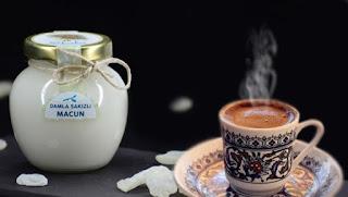 damla sakızlı kahve ekşi - damla sakızı macunu reçeli -  KahveKafeNet