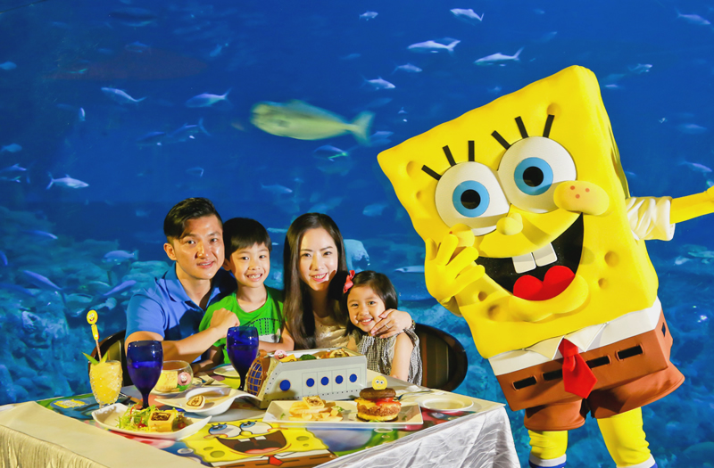 Fans Will Want To Roam The Park Look For SpongeBob And His Friends In Different Summer Looks Be Prepared A