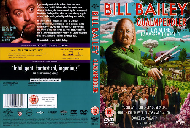Bill Bailey Qualmpeddler DVD Cover