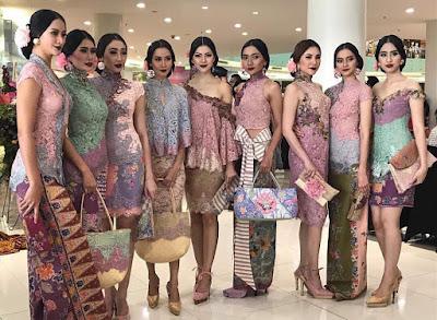 Model Kebaya Batik Broklat Modern