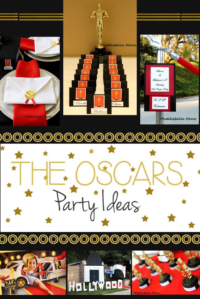 oscar party ideas for a birthday