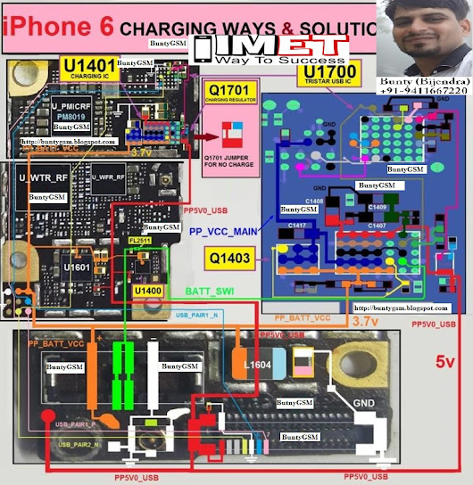 iPhone 6 Charging Problem Solution Jumper Ways