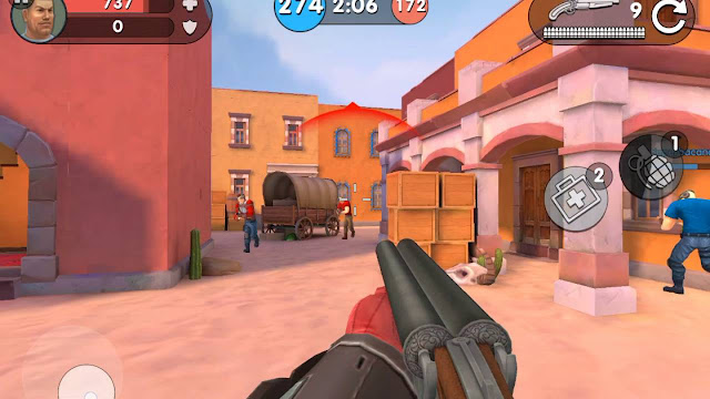 Download Game Guns of Boom Mod (Aim, Ammo) cho Android