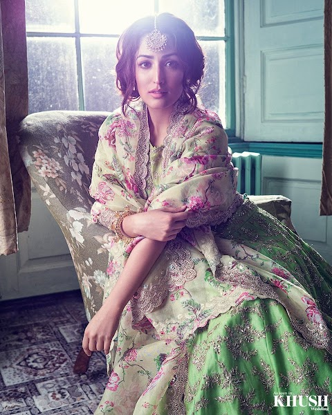 Yami Gautam Bridal Look Photoshoot for Khush Magazine