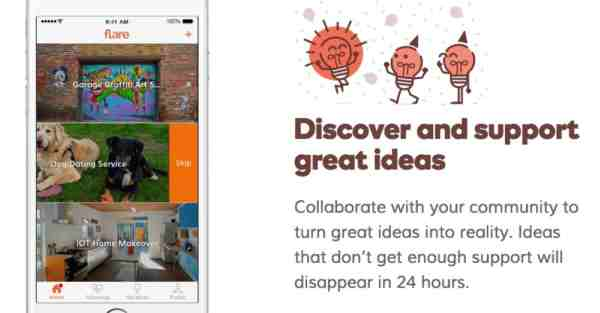 GoDaddy Launches Flare Mobile App