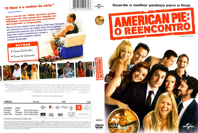 Capa DVD American Pie O Reencontro