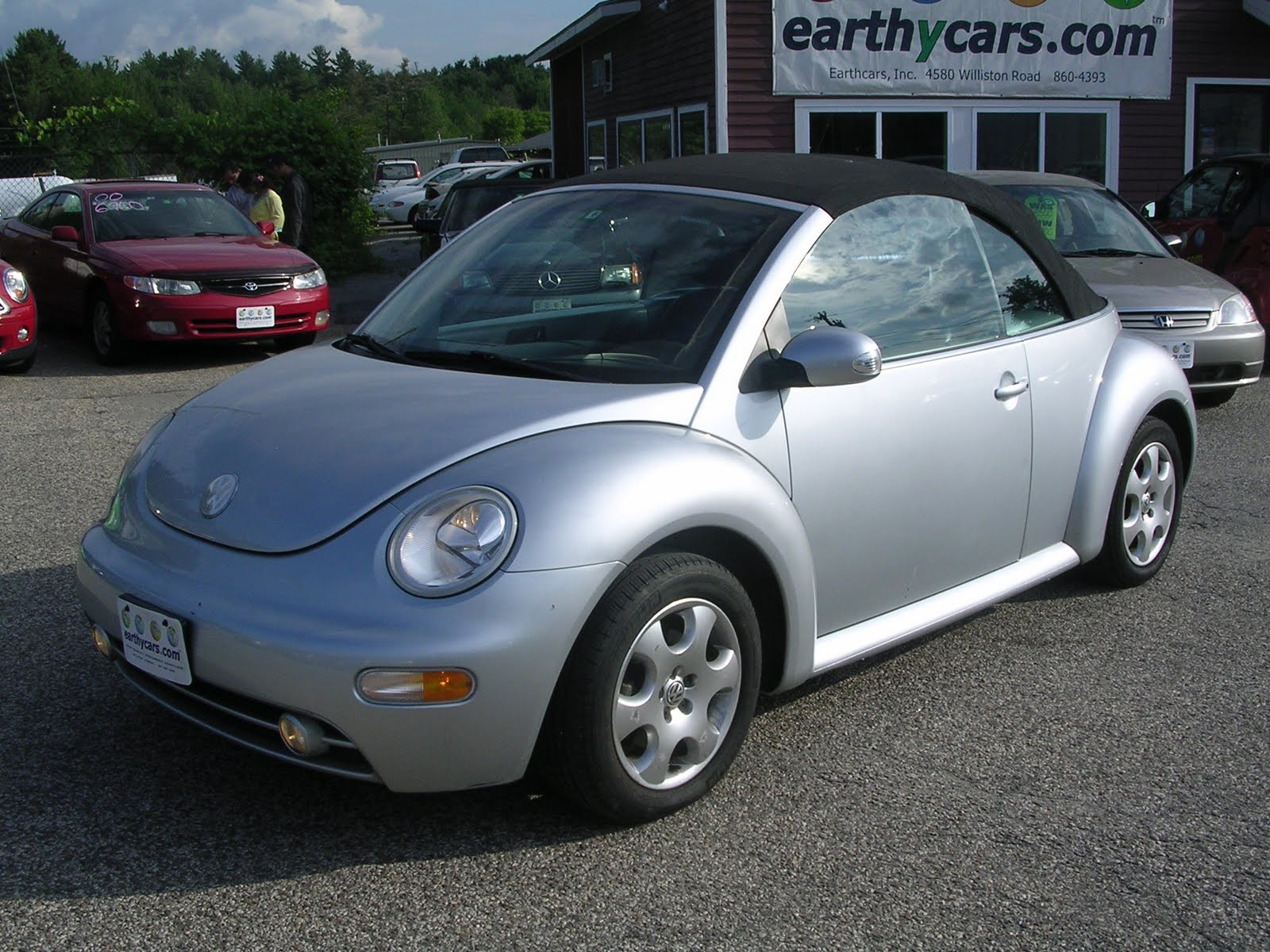 Earthy Cars Blog  Earthy Car Of The Week  2003 Vw New Beetle Convertible