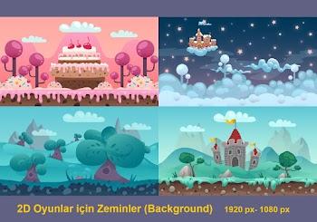 2D Oyun Tasarım Background 2