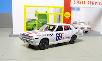tomica Limited Vintage LV-CKB02 Crazy Ken's Car Club Vol. 02 Cedric Ebi-Mark SPL(Stock Car Race Vers.)
