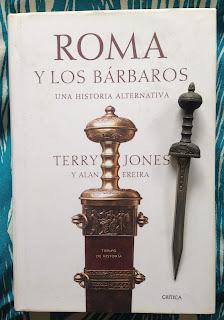 Portada del libro Roma y los bárbaros, de Terry Jones y Alan Ereira