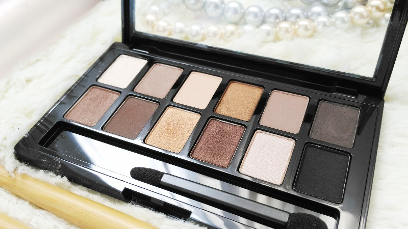 Maybelline The Nude Palette Review