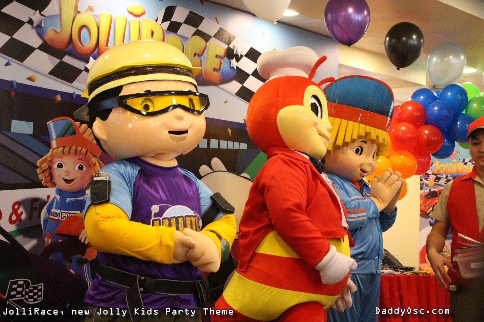 All These Plus Jollibee Langhap Sarap Favorites Chickenjoy Spaghetti And Yumburger Meals Make The JolliRace Jolly Kids Party A Sure Winner