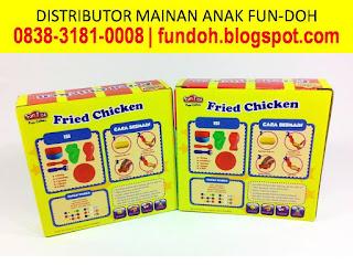 Jual Mainan Masak-Masakan Anak, fun doh fried chicken, mainan anak perempuan 2 tahun, mainan anak perempuan 3 tahun, mainan anak-anak masak-masakan, mainan anak perempuan masak masakan,