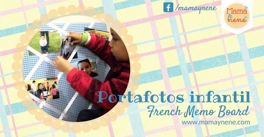 PORTAFOTOS-FRENCH-MEMO-BOARD-KIDS-MAMAYNENE