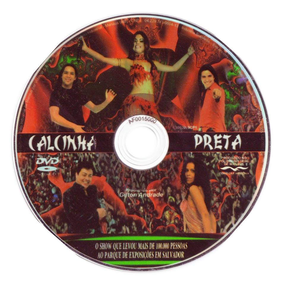 Encartes Pop Dvd Calcinha Preta Ao Vivo Em Salvador