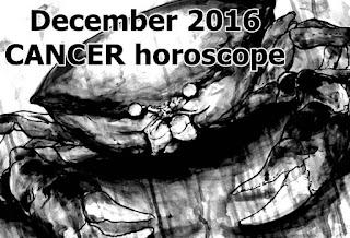 December 2016 CANCER horoscope forecast zone