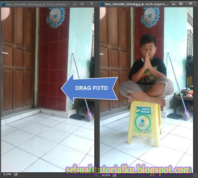 Membuat Efek Foto Melayang Dengan Photoshop