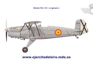 LA MAESTRANZA AÉREA DE ALBACETE EN 1957 (Imagen: Web del Ejército del Aire)