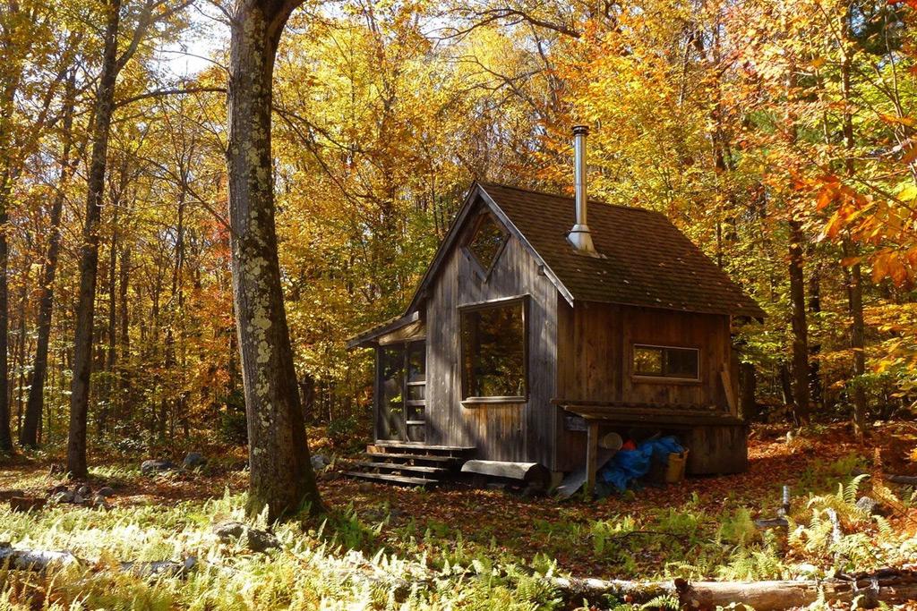 Fall Cabin The Woods Wallpaper 50 Fotos De Fachadas De Casas Modernas Peque 241 As Bonitas