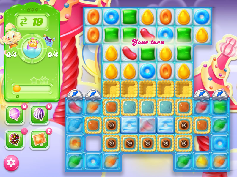 Candy Crush Jelly Saga level 644