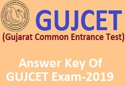 GUJCET Provisional Answer Key Exam 2019 (All Medium)