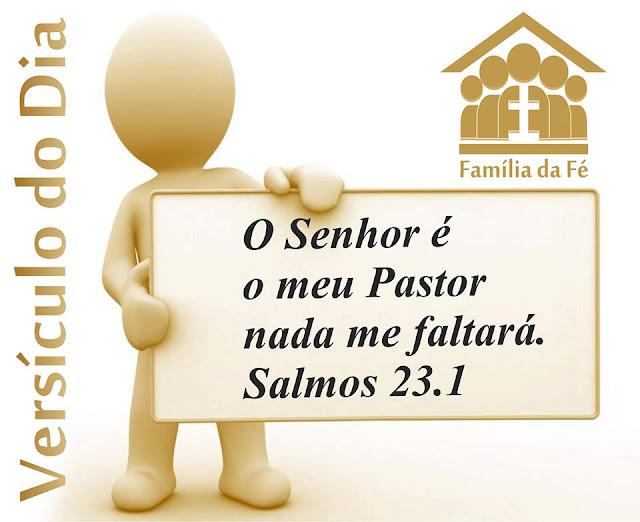 A Família Da Fé: Versículo Do Dia
