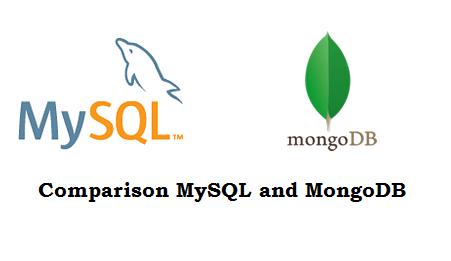Comparison between MySQL and MongoDB