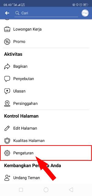 Cara Manghapus Halaman (Fanspage) Facebook Permanen di Android 2019