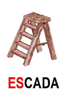 cartaz es de escada