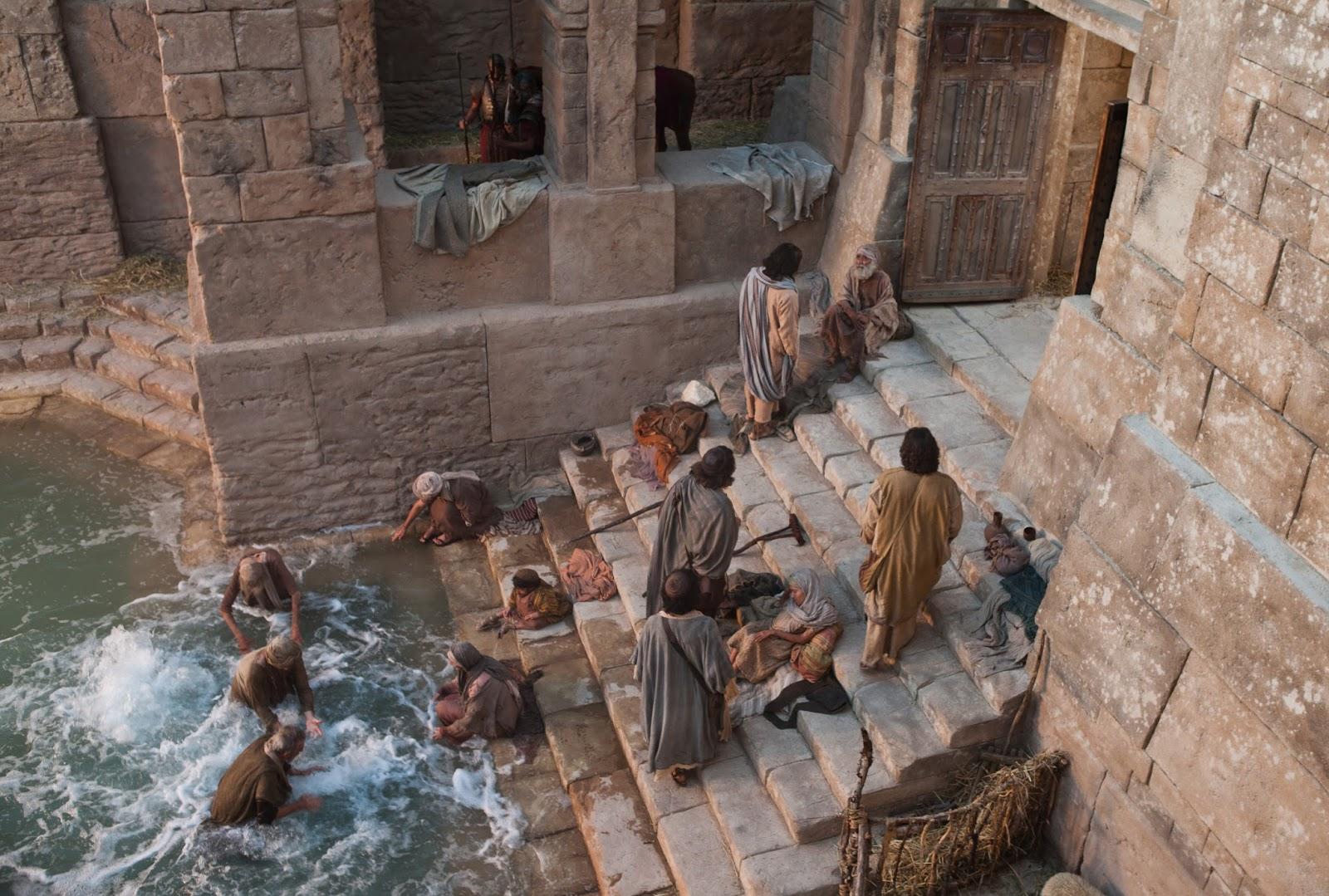 Image result for angel stirring water pool bethesda