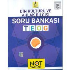 Not Yayınları 8.Sınıf Din Kültürü ve Ahlak Bilgisi Soru Bankası (2016)