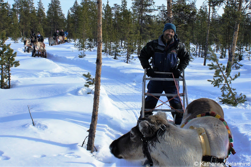 Reindeer Sledding  Winter Travel Packing List