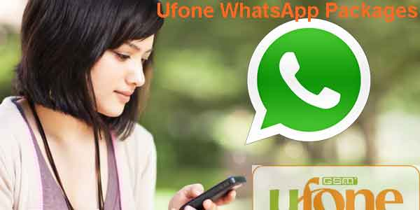 Ufone Social & Whatsapp Packages Daily, Weekly, Monthly 2017 Bundles