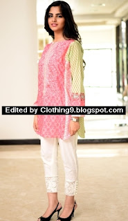 Sobia Nazir Luxury Pret Cotton Tunic Collection 2015