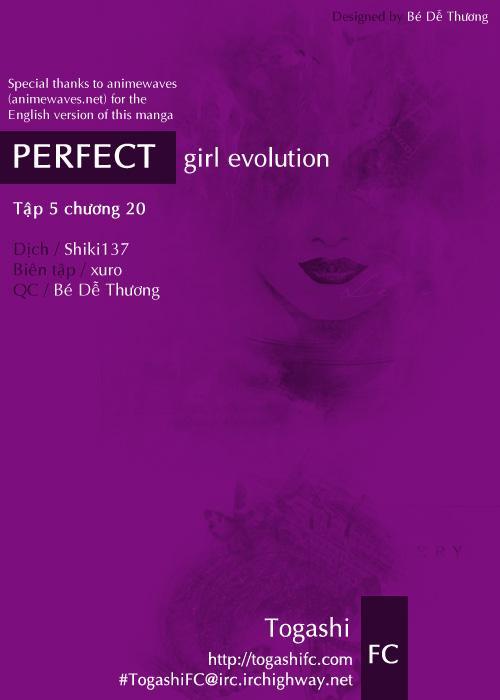 Perfect Girl Evolution chap 20 - Trang 1