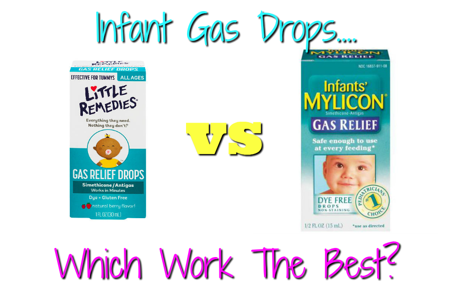 Is It Naptime Yet?: Mylicon Infant Gas Drops vs Little