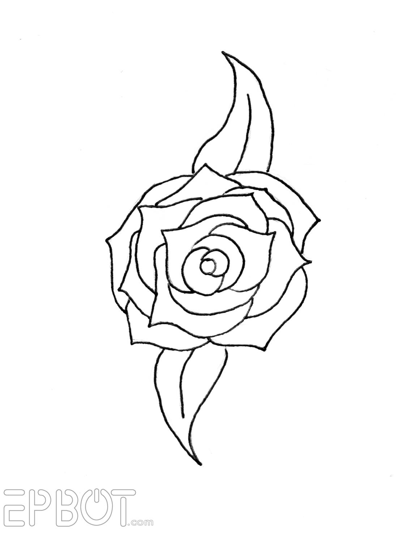 Blue Roses Aesthetic Pattern0