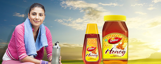 DeSaKa's World: Dabur Honey - Stay Fit, Feel Young
