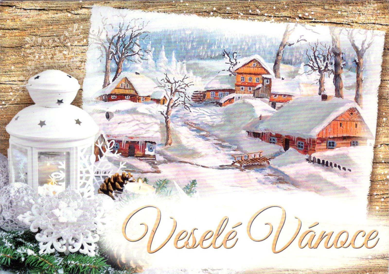 World Come To My Home 3234 Christmas Czech Republic Vesel Vnoce