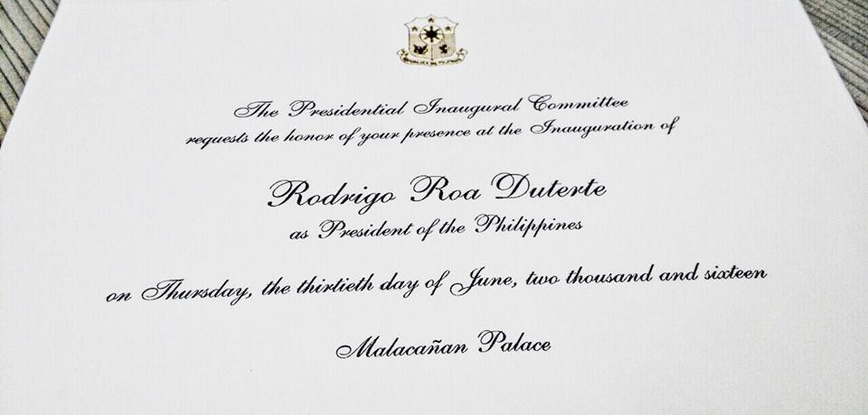 Rodrigo duterte oath taking of 16th president of the philippines rodrigo duterte oath taking of 16th president of the philippines stopboris Images
