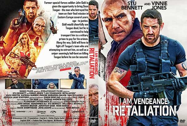 I Am Vengeance: Retaliation (2020) DVD Cover