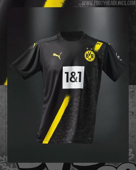 Dortmund 20 21 Away Kit Released Footy Headlines