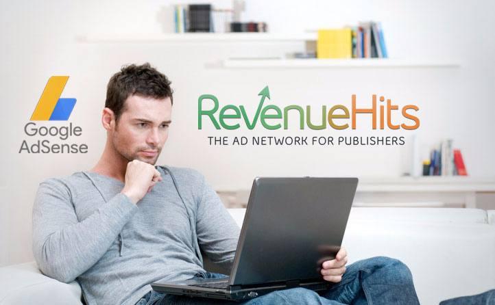 هل يمكن وضع إعلانات Revenuehits مع إعلانات AdSense علي مدونة أو موقع ويب نفسه ؟