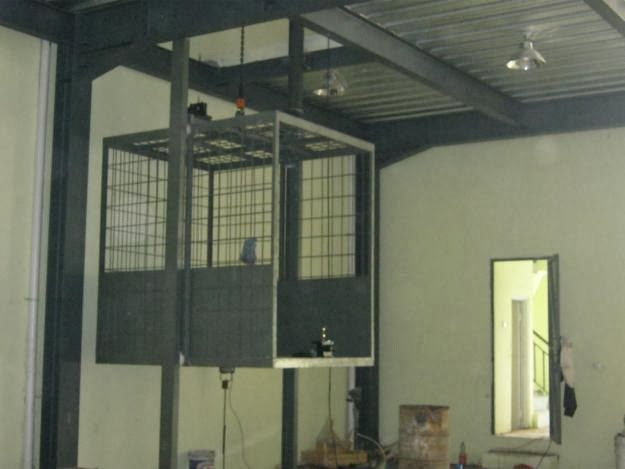 konstruksi baja ringan untuk rumah minimalis pembuatan lift barang empat lantai ...